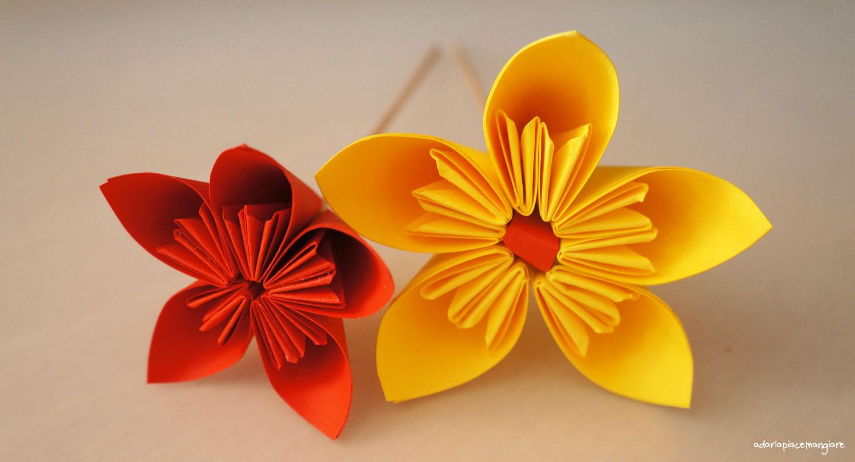 0rigami Fiori.Fiore Origami A Daria Piace Mangiare
